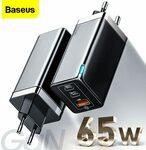 Baseus GAN 65W USB C Charger US$31.91 (~A$44.23) Delivered @ Baseus via AliExpress