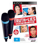 Truth or Lies Bundle PS3 with 2 Wired Microphones - $7 Delivered from Game.com.au