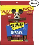 Schmackos Strapz Beef/Liver Flavour Dog Treats 2kg $25.80 / $23.22 (S&S) + Delivery (Free with Prime/ $39 Spend) @ Amazon AU