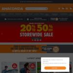 20%-50% off Storewide @ Anaconda