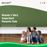 50% off BRAUER Natural Health Products (Free Shipping over $25)