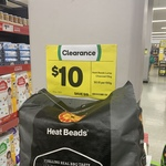 Heat Beads Hardwood Lump Charcoal 10kg $10 (Was $25) @ Woolworths