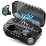 BDI G02 TWS Earbuds BT 5.0 IPX7 Waterproof LED Display 6D Stereo 3300mAh Charging Case $49 Free Shipping @ Pc Bytes Online