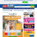Win a $20K Home Styling Session with HealthyCare Products