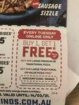 Buy 1 Premium/Traditional Pizza & Get 1 Traditional Pizza Free @ Domino's via Web/App (Tuesdays Only) (Pickup)