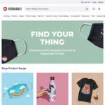 20% off Sitewide (No Min Spend) @ Redbubble