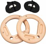 15% off 32mm Gymnastic Rings with Finger Training Board $80.74 Delivered @ Mountain Rocks via Amazon AU