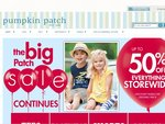 Pumpkin Patch FREE DELIVERY on ALL Online Purchases + Now up to 60% off Big Patch Sale