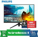 """[Afterpay] Philips 275M8 27"""" 144hz QHD FreeSync Gaming Monitor $303.20 Delivered + $50 Steam Gift Card @ Wireless 1 eBay"""