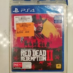 [NSW, PS4] Red Dead Redemption 2 $28 @ Harvey Norman, Balgowlah