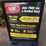 Supercheap Auto Club Plus - Join for Free and Get $10 Store Credit (In-Store Only)
