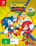 [Switch] Sonic Mania Plus $29, Moving Out $27 (Sold Out) + Delivery ($0 with Prime / $39 Spend) @ Amazon AU