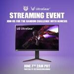 Win an LG UltraGear Gaming Monitor or 1 of 10 Merchandise Packs from LG UltraGear