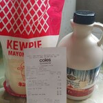 [VIC] The Maple Treat Pure Canadian Maple Syrup 1L $2, Kewpie Mayonnaise 1kg $2 @ Coles (Dandenong)