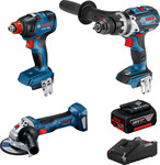 Bosch Blue 18V 3-Piece 5.0Ah Limited Release Combo Kit $399 + Delivery ($0 C&C/ in-Store) @ Bunnings