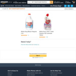[Prime] White King Toilet Cleaner Gel 700ml $2.10 (Sold Out), Bleach 2.5L $2.10 ($1.80 S&S) Delivered @ Amazon AU