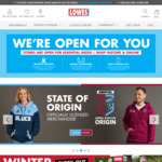 10% off + Free Shipping @ Lowes