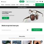 $30 off $119 Spend + Free Standard Delivery @ Specsavers