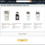 60% off BULLDOG Men's Skin Care: e.g. Face Wash 150ml $3.98 ($3.58 SS) + Delivery ($0 with Prime/ $39 Spend) @ Amazon AU