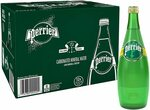 Perrier Sparkling Mineral Water 12 Pack X 750ml $20 ($18 S&S) + Delivery ($0 with Prime/ $39 Spend) @ Amazon AU