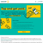 Up to $60 Cashback for New Transaction Account (3x $20/Month, 10 Digital Wallet Purchase Required) @ Suncorp