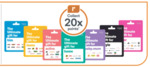 Bonus Everyday Rewards Points on Ultimate Gift Cards: $30 = 600, $50 = 1000, $100 = 2000, Variable $1 Spend = 20x @ Woolworths