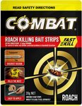[Back Order] Combat Roach Bait Strips with Fast Kill Action Insecticides 20g 10 Pack $2.50 ($2.25 S&S) + Delivery @ Amazon AU