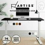 [eBay Plus] Artiss Standing Desk Height Adjustable Motorised Electric 120cm $379.90, 140cm $389.90 Delivered @ ozplaza eBay
