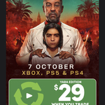 [PS4, PS5, XB1, XSX] Trade-in 2 Selected Games and Get Far Cry 6 Yara Edition for $29 @ EB Games in-Store
