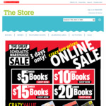 Up to 80% off Children Books + Delivery ($0 with $75 Order) (e.g. Pig The Grub $8, Was $17.99, Save 56%) @ Scholastic
