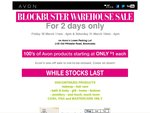 Avon Warehouse Sale - from $1 - Brookvale NSW - 30th and 31st of March