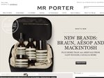 Free Express Shipping to Australia at Mr. Porter