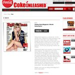 Get up to 9 Months Rolling Stones Magazine Subscription from Coke Unleashed Points