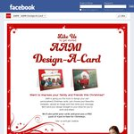 Design Your Own Christmas Card and Receive a Pack of 4 for FREE - AAMI Facebook like Required