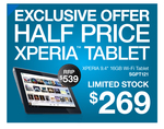 """Sony XPERIA 9.4"""" 16GB Wi-Fi Tab (SGPT121) $269 +up to 30% off All Sony Computers @ Sony Centre"""