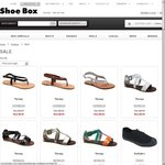 Summer Clearance Sale from $9.95 at Shoebox.com.au