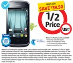 Telstra Prepaid Huawei Ascend Y201 Smartphone + 1000 Flybuys $39.50 at Coles Again