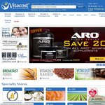15% off VITACOST Brand Products