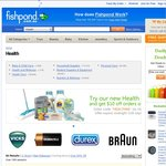 $10 off $20 Spend at Fishpond Health* Plus Free Shipping