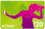 2x $20 iTunes Gift Cards for $30 at BIG W (Save 25%)