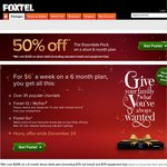 Foxtel for $6/Week - 35 Channels and More