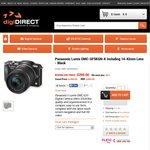 digiDIRECT Boxing Day Sale 10% off Storewide for 4 Days, Panasonic GF5 w/ 14-42mm Lens for $269