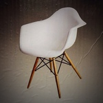 Charles Ray Eames Arm Chair Replica, Pk. 2 Full Size $24 @ Target