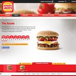 Hungry Jacks - The Aussie Battler Burger $2 (Available until 10.30am)