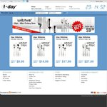 1-Day: Wiltshire Cultery Sets from $9.99 for 16 Pc (4 People) + $6.95 Shipping