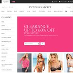 Victoria's Secret Clearance - up to 60% OFF. Clothing, Swim and Lingerie from $14.99 up