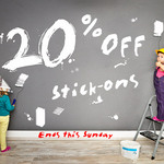 OzLabels 20% OFF for Stick on Labels - Ends This Sunday
