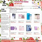Selected Top Branded Fragrances at up to 60% OFF @ Mushop