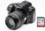 $508.95 Delivered - Pentax K50 18-55mm Lens Kit + SanDisk Class 10 16GB SD Card @ Groupon