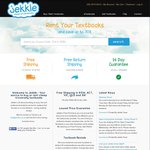 Back to School Savings on Your Textbooks with Jekkle - 5% off